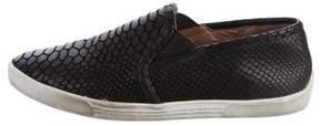 Joie Kidmore Leather Slip-On Sneakers