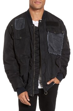 Hudson Men's Echo Oversize Bomber Jacket