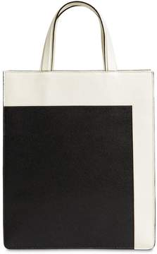 Valextra Color Block Small Boxy Tote Bag