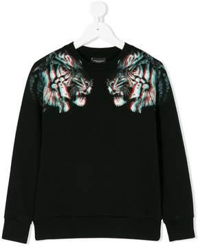 Marcelo Burlon County of Milan Kids 3D Tiger sweatshirt