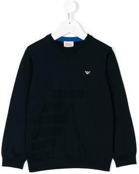 Emporio Armani Kids long sleeve pullover