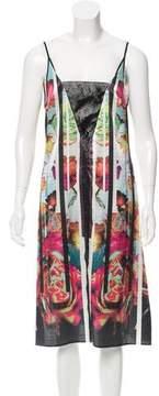 Clover Canyon Digital Print Midi Dress