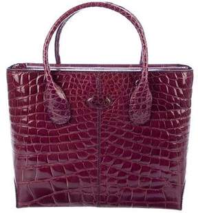 Tod's Alligator D-Styling Tote