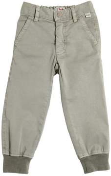 Il Gufo Stretch Cotton Gabardine Pants