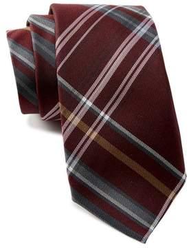Ben Sherman Landrik Plaid Silk Tie