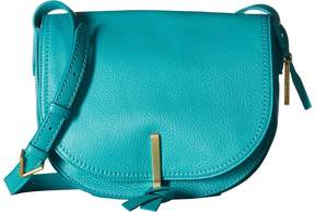 Vera Bradley Carson Saddle Bag Bags - TURQUOISE SEA - STYLE