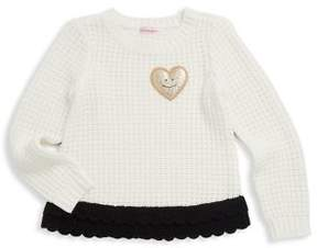 Design History Little Girl's Knitted Sweater