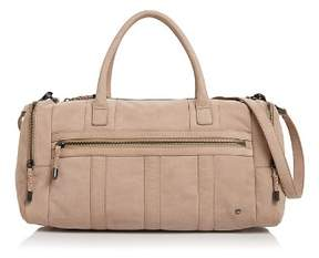 Halston Jerry Medium Nubuck Leather Duffel