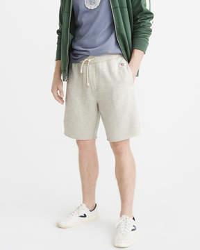 Abercrombie & Fitch Logo Fleece Shorts