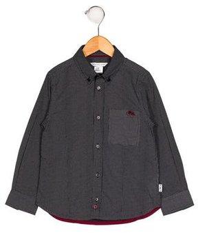 Little Marc Jacobs Boys' Polka Dot Button-Up Shirt