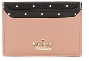 Kate Spade Blake Street Dot Lynleigh Card Colorblock Case