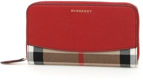 Burberry Elmore Wallet - RUSSET RED BEIGE - STYLE