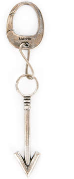 Lanvin arrow charm keyring
