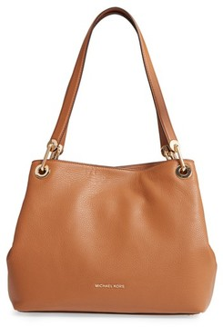 MICHAEL Michael Kors Large Raven Leather Tote - Brown