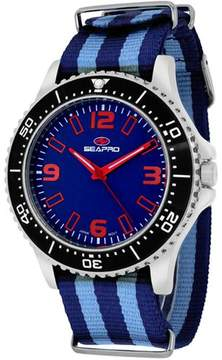 Seapro SP5313NBL Men's Tideway Blue & Navy Nylon Watch