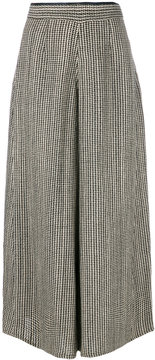 Forte Forte woven houndstooth trousers