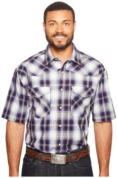 Roper 0834 Driftwood Plaid Snap