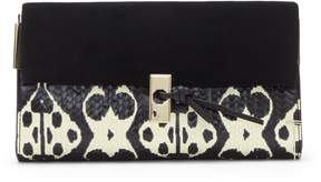 Louise et Cie Frej Mixed-material Clutch