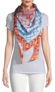 Missoni Abstract-Print Silk Scarf