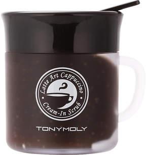 Tony Moly Latte art Cappuccino Cream-in scrub 95g