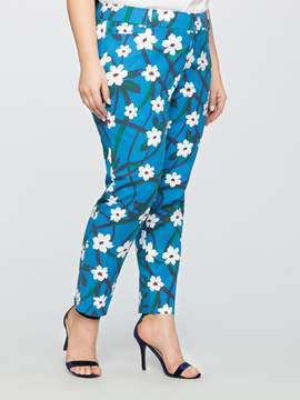 Draper James for ELOQUII Printed Ankle Pant