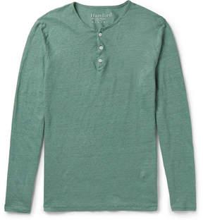 Hartford Linen Henley T-Shirt