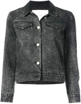 ADAM by Adam Lippes acid wash denim jacket