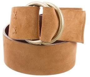 Marc Jacobs Suede Buckle Belt