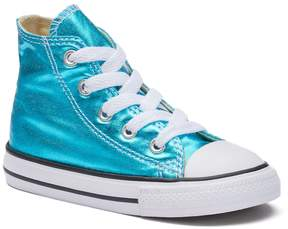 Converse Toddler Chuck Taylor All Star Metallic High-Top Sneakers