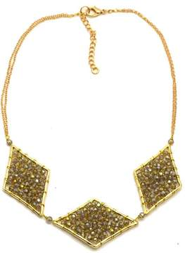Ananda Smokey Crystal Necklace
