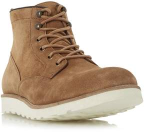 Dune London CONRAD - TAN Wedge Sole Lace Up Boot