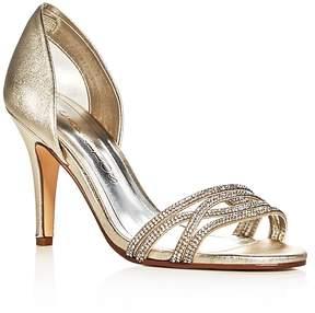 Caparros Irina Metallic Embellished d'Orsay Pumps