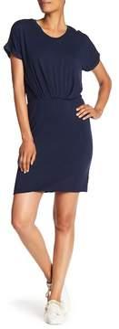 Bobeau Short Sleeve Tuck Dress