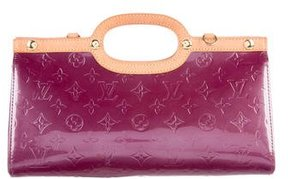 Louis Vuitton Vernis Roxbury Drive Bag - PURPLE - STYLE
