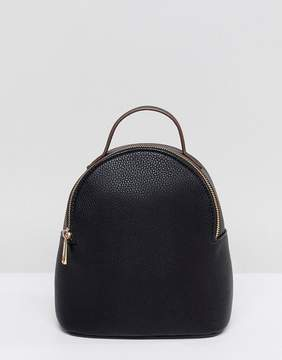 Asos Mini Simple Curved Top Backpack