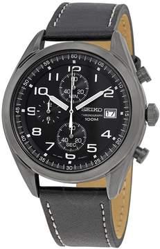 Seiko Neo Sports Chronograph Black Dial Men's Watch