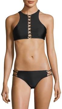 6 Shore Road Women's Criss-Cross Bikini Top