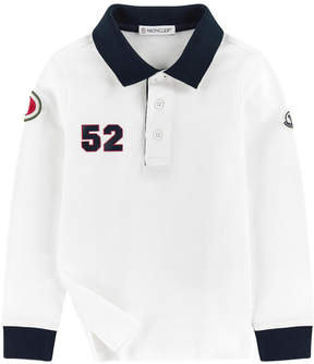 Moncler Polo with patches