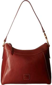 Dooney & Bourke Florentine Classic Large Cassidy Hobo Hobo Handbags - GINGER/SELF TRIM - STYLE