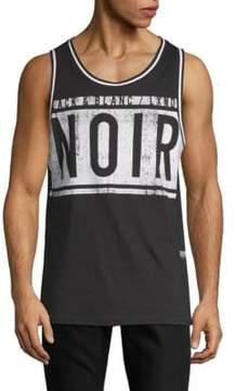 ProjekRaw Noir Cotton Tank Top