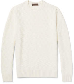 Altea Slim-Fit Basketweave Virgin Wool Sweater