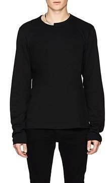 Helmut Lang Men's Necklace-Detailed Cotton T-Shirt