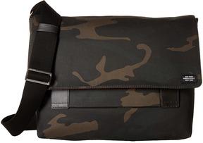 Jack Spade - Camo Waxwear Field Messenger Messenger Bags