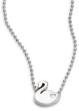 Alex Woo Animals Swan Necklace