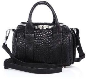 Alexander Wang Rockie Mini Pebbled Leather Duffel Bag