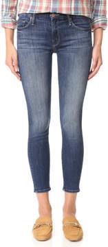 Mother Looker Crop Skinny Jeans
