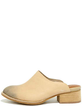 Sbicca Barrington Leather Mules