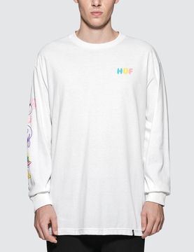 HUF Who Are You L/S T-Shirt
