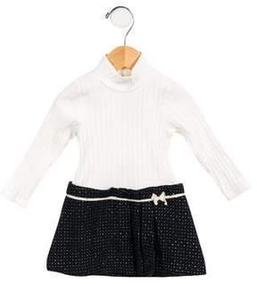 Lili Gaufrette Girls' Ribbed A-Line Dress w/ Tags
