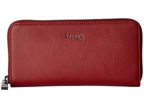 Lipault Paris Plume Elegance Leather Zip Around Wallet